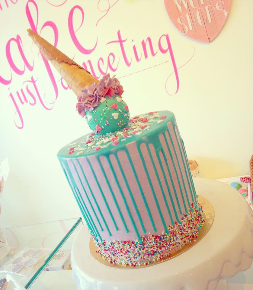 ijsje taart bestellen, icecream taart bestellen, drip cake den haag