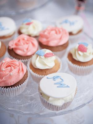 Bruiloft cupcake's den haag