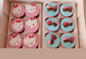Hello Kitty cupcake's