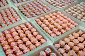 Company events cupcakes den haag, cupcakes met logo den haag