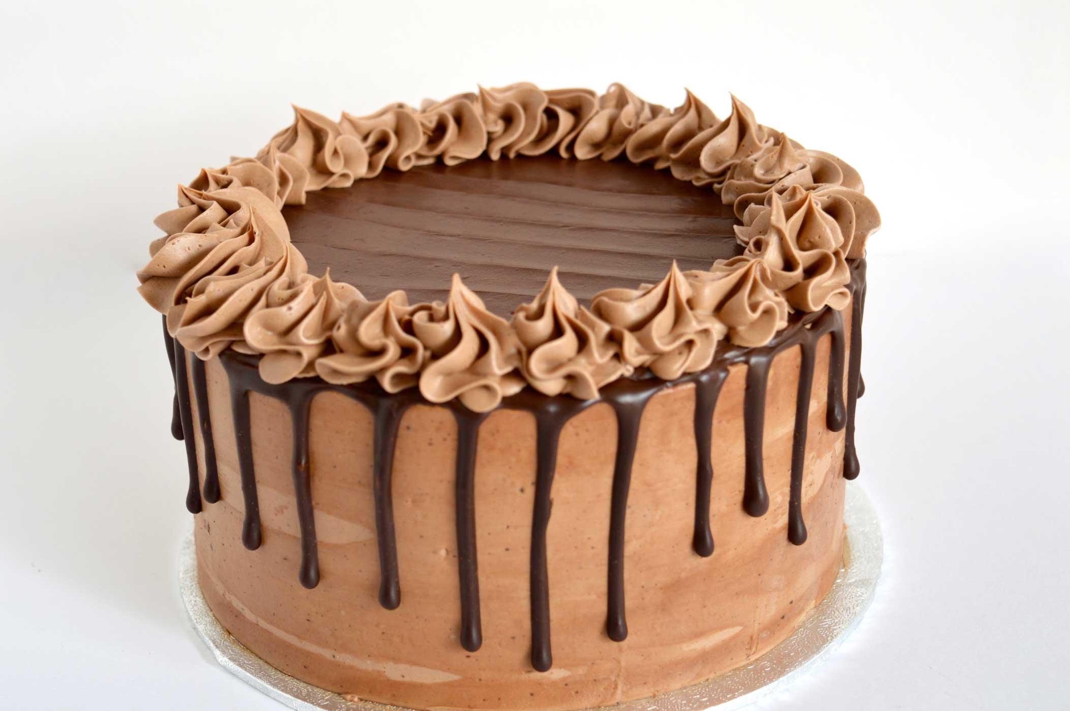 chocolate cake order, dripcake order