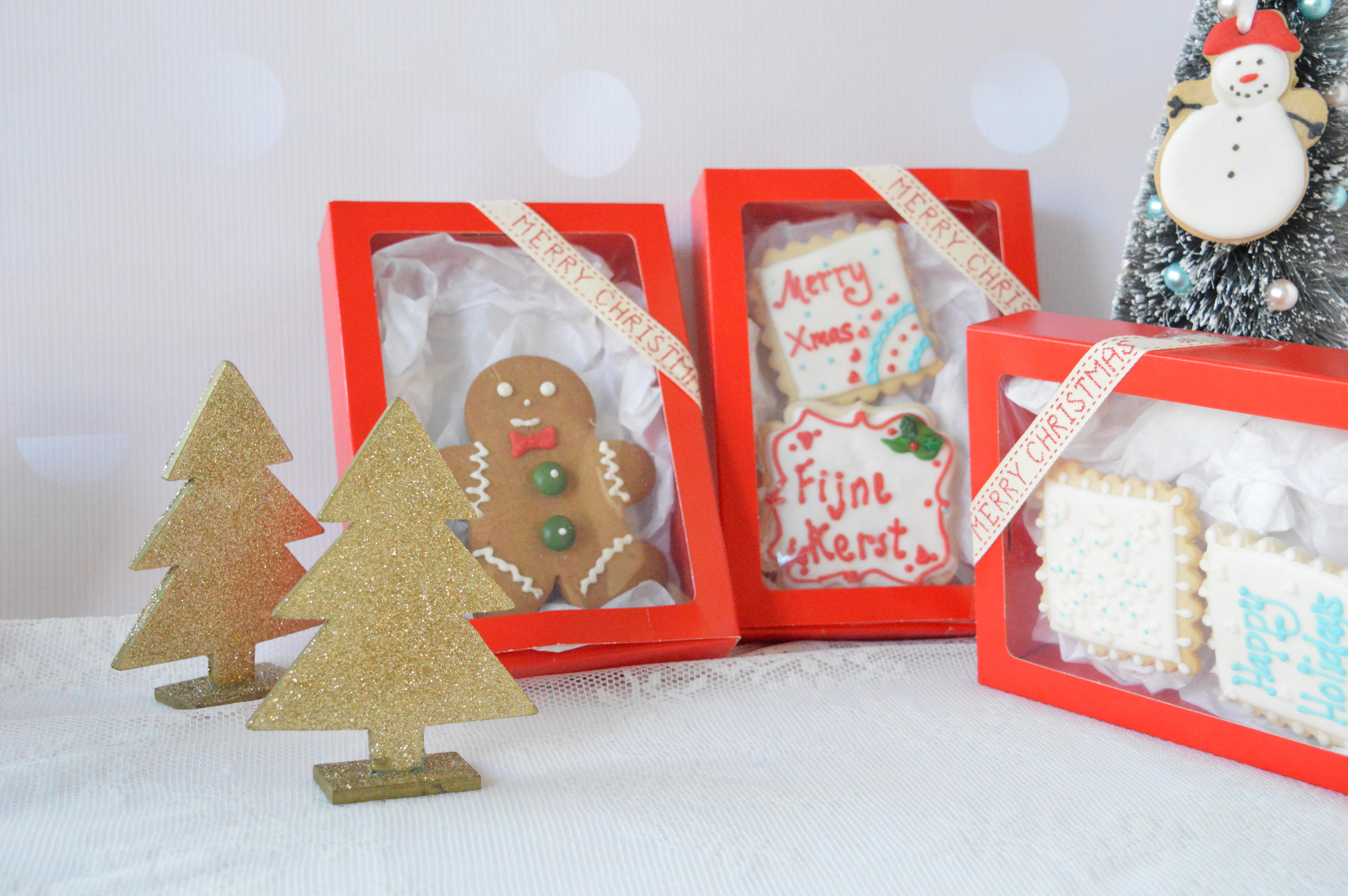 Kerst koekjes, gingerbread cookies