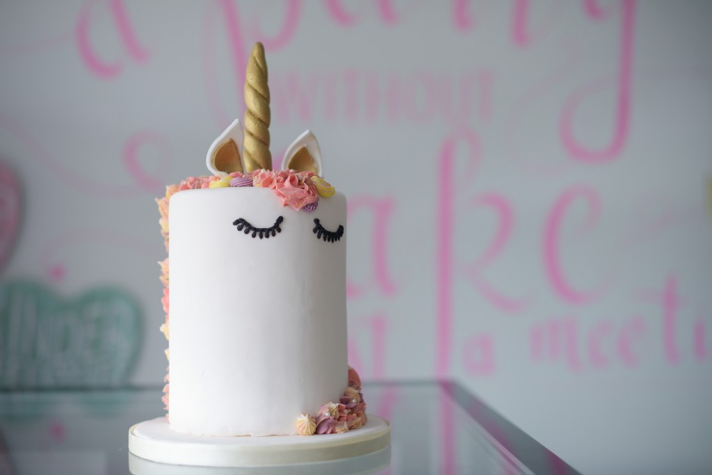 Unicorn cake, eenhoorn taart bestellen