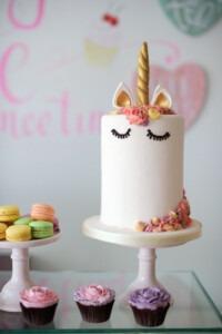 unicorn-cake-pastel-buttercream-golden, eenhoorn-taart-pastel