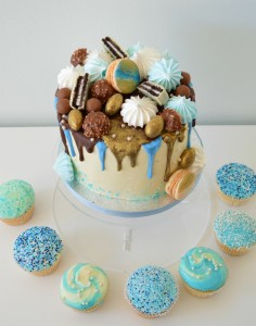 babyshower-cupcakes-taart-blue-buttercream