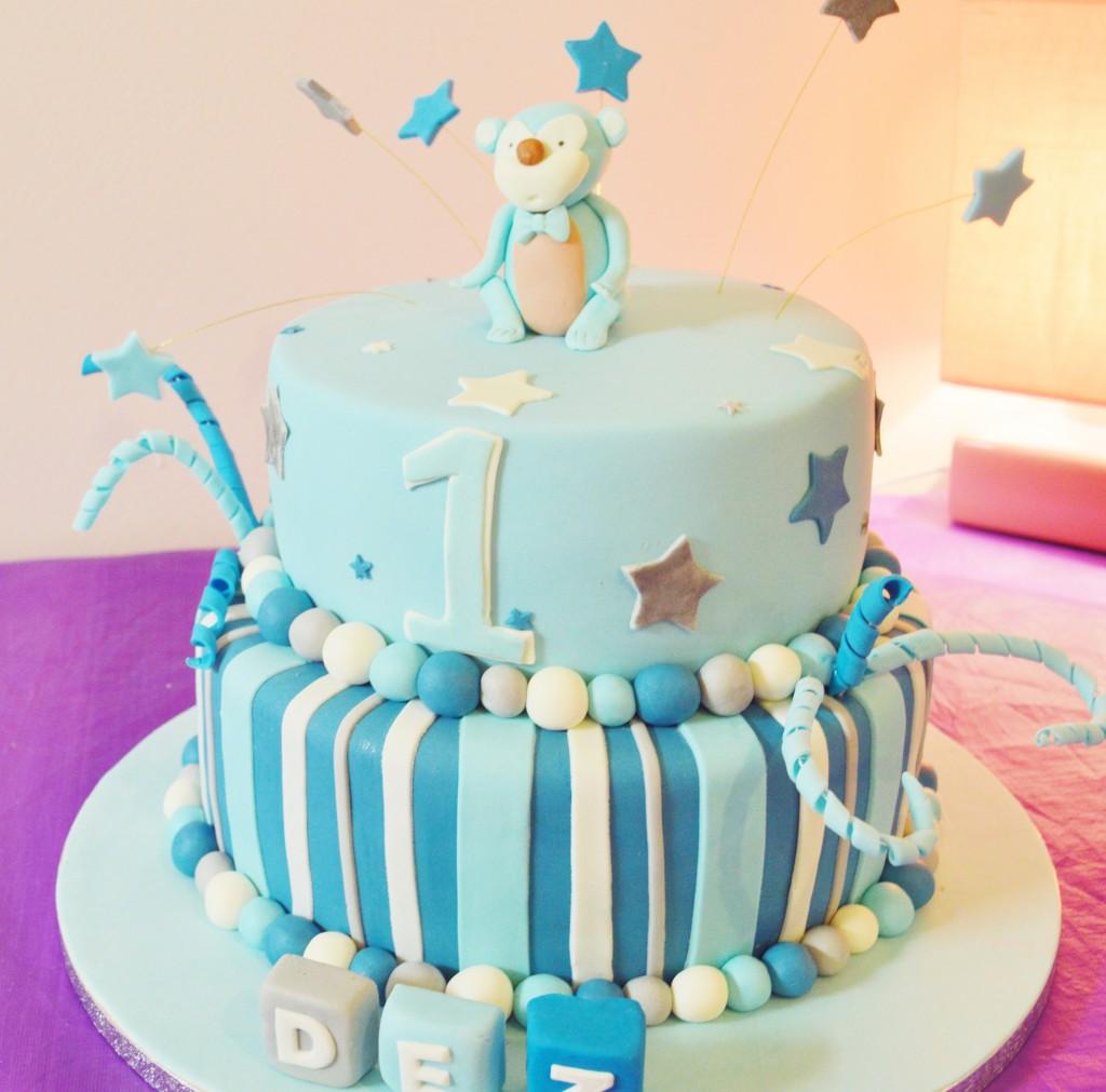 Baby's 1ste verjaardags taart bestellen in Den Haag