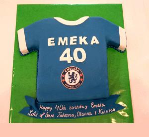Voetbalshirt taart bestellen, jongenstaart bestellen Den Haag