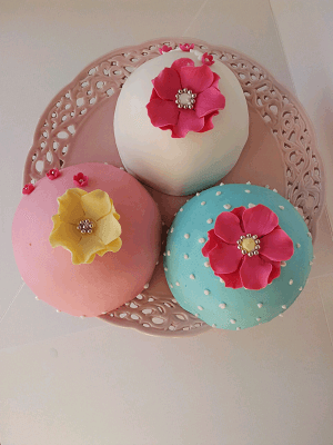 Party cupcake's