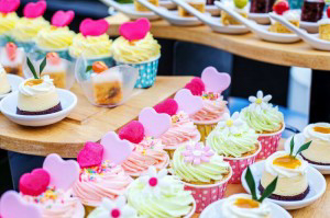 Bedrijf Cupcakes met Logo