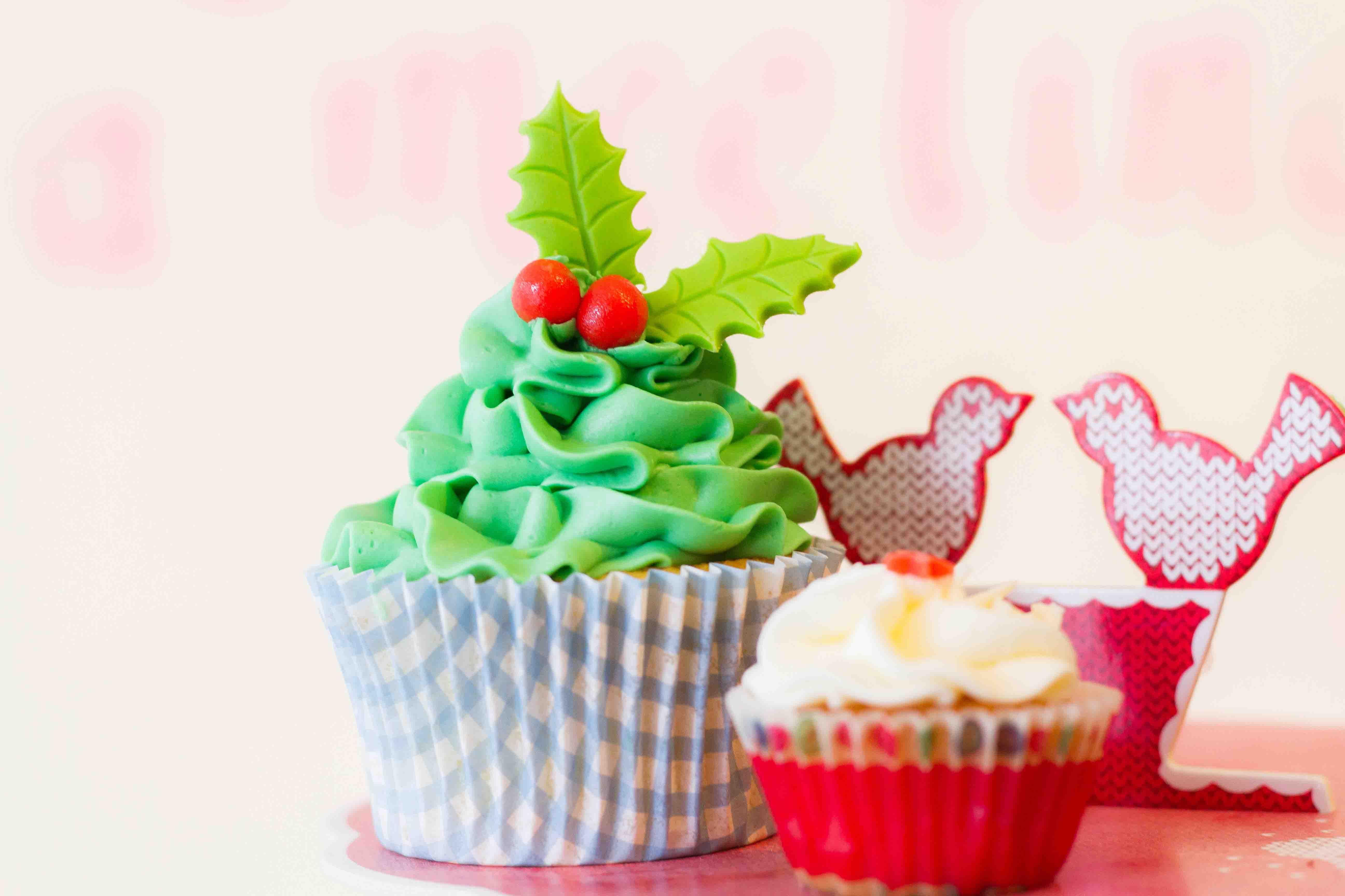 cupcake-kerstboom-groen-rood
