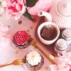 cupcakes-bloemen-rood-wit-high-tea