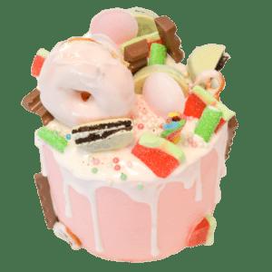donuts drip taart