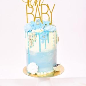 baby-shower-cake-blue-cake-topper-oh-baby-golden