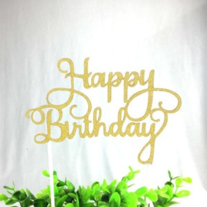 happy-birthday-taart-topper-goud-letters