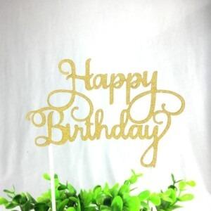 happy-birthday-taart-topper-goud-letters