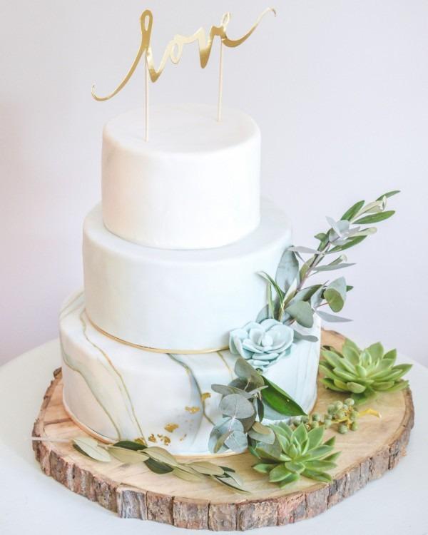 marble-bruidstaart
