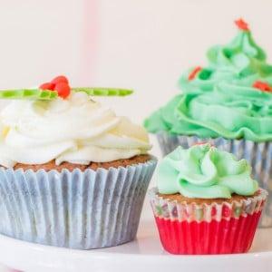 kerst-cupcakes-groen-misletoe