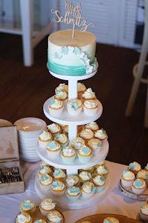 cupcakes-toren-ombre-zee-groen