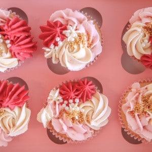 cupcakes-roze-wit-donker-roze-doos