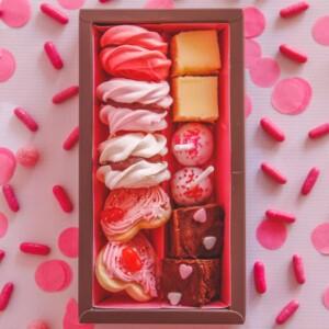 valentijn sweet box-diverse lekkernijen