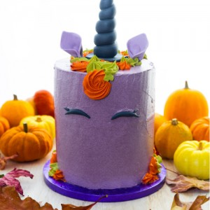 halloween paars unicorn